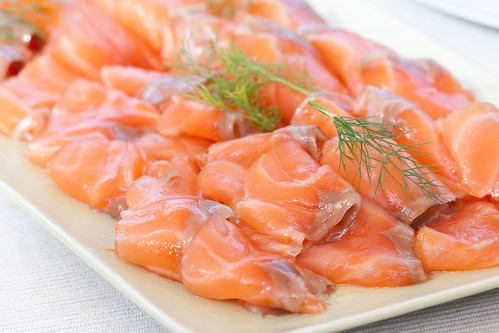 Suitsulõhe / Smoked salmon
