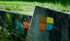 Be square (Gilles 1972) Tags: colors squares boulders paths basalt paden kleuren vierkant vierkantjes gids basaltblokken