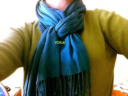 scarf tying 5