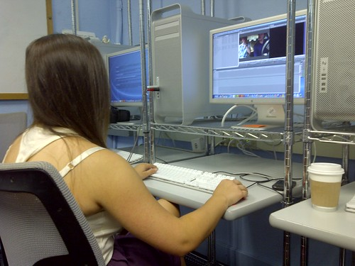 NSLC Students Edit Final Projects
