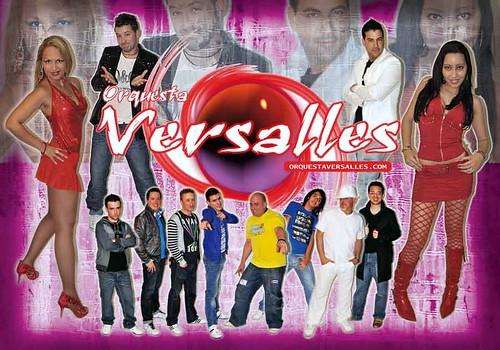 Versalles 2011 - orquesta - cartel en baixa