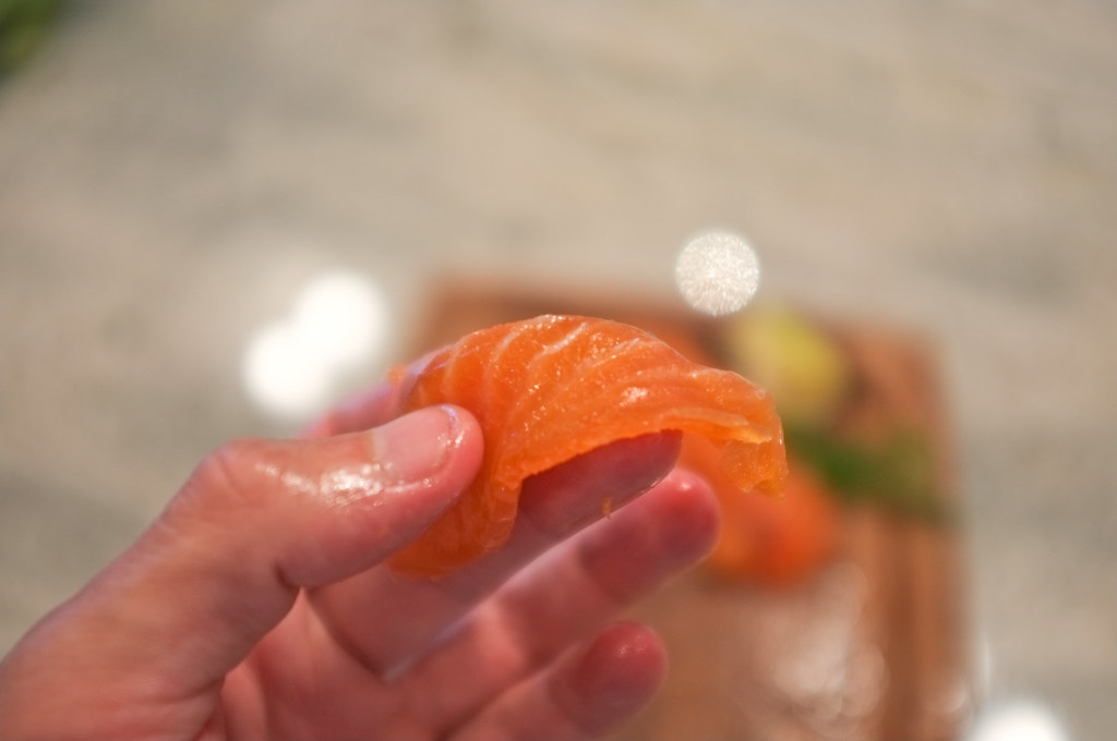 View Gravlax Salt and Sugar Cured Salmon – Recipe →
