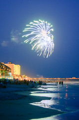 4th of July Fireworks at Folly Beach