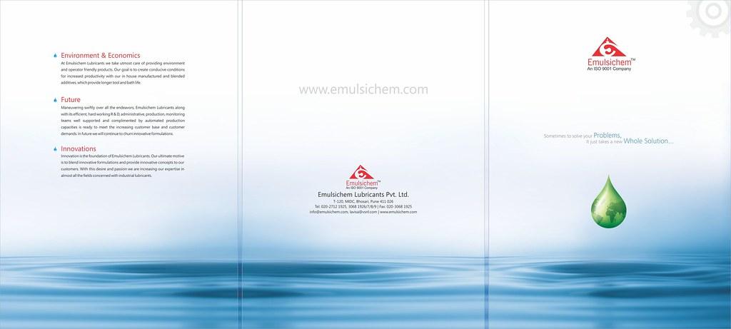 Emulsichem Brochure Front Side