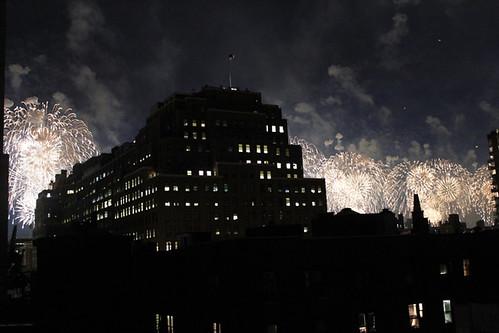 Fireworks - gold