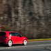 VW Golf GTi R: The landscape steaks past