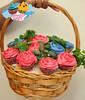 Cupcake bouqet (Heavenly Sweets ☁) Tags: floral monster cookie cupcake sweets heavenly qatar bouqet ورود عبدالله كيك أم حلى كب بوكيه