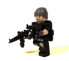 S.W.A.T. (*Nobodycares*) Tags: trooper back amazing lego pack hazel ama tiny guns vest bling dual armory mags swat mp5 tactical etape brickarms