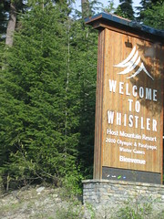Whistler, BC Olympic Village 051 (Beauty Playin 'Eh) Tags: snow canada mountains vancouver forest whistler britishcolumbia squamish olympicvillage 2010winterolympics olympicrings vancouverstanleycup2011