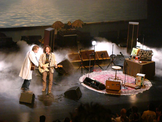 Eddie Vedder+ Glen  Hansard @ Long Beach Performing Art