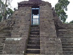 Solo trip - Candi Sukuh - First Terrace - One of the Candi (b3lthaZor) Tags: surakarta solotrip candisukuh mixedupalready