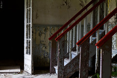 Stairs (monsieur menschenleer) Tags: urban abandoned decay exploring abandonment decayed verlassen urbex verfallen menschenleerat