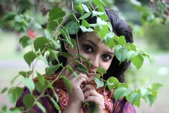 Mystery Model (Russell John) Tags: woman girl lady 50mm model dhaka bangladesh sadia dhakauniversity 450d russelljohn
