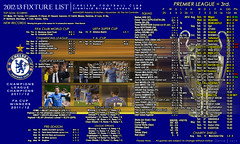 Chelsea Fixture List 2012-13 (The_Old_Grey_Wolf) Tags: bridge club football chelsea stamford fc premier league