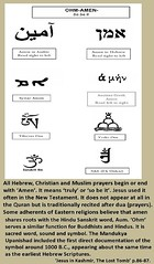 Amen Ohm-the similarities go back for thousands of years. www.rozabal.com (Author-The DNA of God Project) Tags: afghanistan worship cross god muslim islam religion buddhism graves creation mohammed bible astronomy safiya christianity generations hindu prophet himalayas fatima crucifixion excalibur muhammad jesuschrist kingarthur resurrection emc2 mothermary magdalene emptytomb ahmadiyya haplo tombofjesus swordinstone shias kashmirindia losttomb kinanah rozabal suzanneolsson dnaofgod yuzasaph