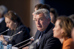Frédéric Cuvillier during the Closed Ministerial Session