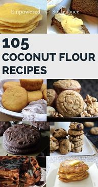 Coconut flour is the