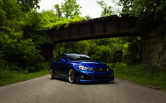 Sitting Pretty (Colbis) Tags: blue columbus sexy car speed sedan is gorgeous wheels fast tires toyota mean ssr rims quick growl luxury v8 isf jdm lexus