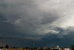 Storm Cerro del Cuatro (raulmacias) Tags: arcoiris clouds mexico guadalajara jalisco tormenta mayo azotea 2014 strorm cumpleaã±os cerrodelcuatro raulmacias raulmaciascommx httpwwwraulmaciascommx