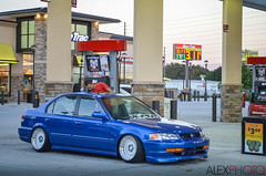 Fill Her Up (Alexander Gonzalez Tubens) Tags: orlando florida clean slammed domani dumped kseries xmp wireworx fatlace stiblue canibeat ktuned stancenation klutchwheels a96p kseriesdomani wirewhere a96pdomani anasco96productions