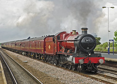 5972 Church Fenton (prof@worthvalley) Tags: uk railroad castle hall all wizard transport railway steam locomotive express hogwarts types olton 5972