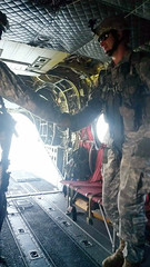 20140607-Z-Clark-07 (New York National Guard) Tags: 3rdbattalion det1 2ndbattalion senecaarmydepot nysoldiersofdeltacompany 108thinfantryfromithaca hadtheuniqueopportunitytotrainwithtwoch47chinookhelicoptersandtheircrewsfrombravocompany 126thaviationoutofrochesterthetrainingtookplaceatsenecaarmydepotlocatedintheheartofthefingerlakesbetweensenecaandcayugalakesnewlytrainedpathfinderandairassaultsoldierstrainedthecompanyonhowtoslingloadthecodup theflightcrewsverifiedtheloadsandgaverehearsalsfortheloadingandunloadingtheaircrafteachofthetrainedhookupcrewsrotatedthroughhookingtheslingloadsupandthechinooksflewashortpatternwiththe5 000lbsand12 000lbshumveeseachofthefourassaultplatoonsincodwereflownaroundcanandaiguaandkeukalakeswhileaboardthehelicoptercaptclarkwasabletopromotespcjoshuameriwethertosergeant