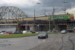 Train - Riga (Neil Pulling) Tags: city europe transport latvia busview riga