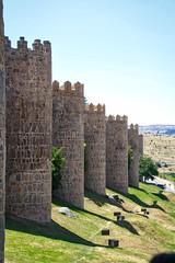 Muralla de vila (woto) Tags: vila murallas torres piedra recintoamurallado medievo wall muralla antique spain espagne espaa