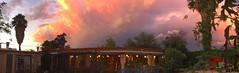 Sunset Northwest Panorama (Chic Bee) Tags: panorama spectacular sunset allaround tucson arizona americansouthwest iphoneography