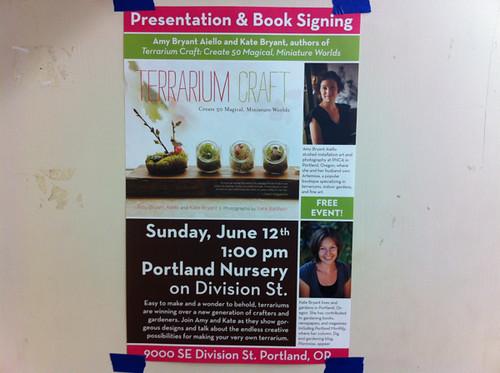 Terrarium Craft event Sunday!