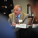 Jim Trainham of Research Triangle Solar Fuels Institute addresses the panel.