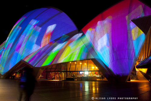 Projected Colour by alison lyons photography