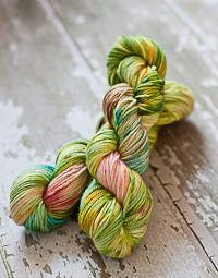 'Modern Fairytale' on Canadian BFL aran