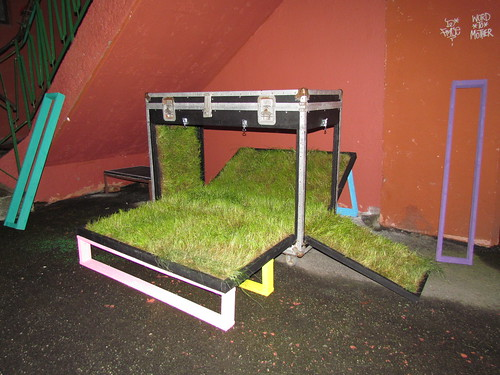 Grass installation by Frode Jakobsen and Morten Engebretsen