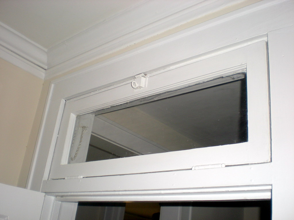 However the transom above our front door was a  fixed  transom and did not open in any way. Below is a photo of our window from early on in our renovation ... & Transoms: A Window of Possibilities - Old Town Home