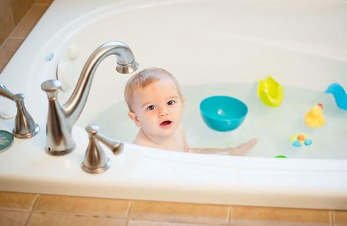 bathing-boy