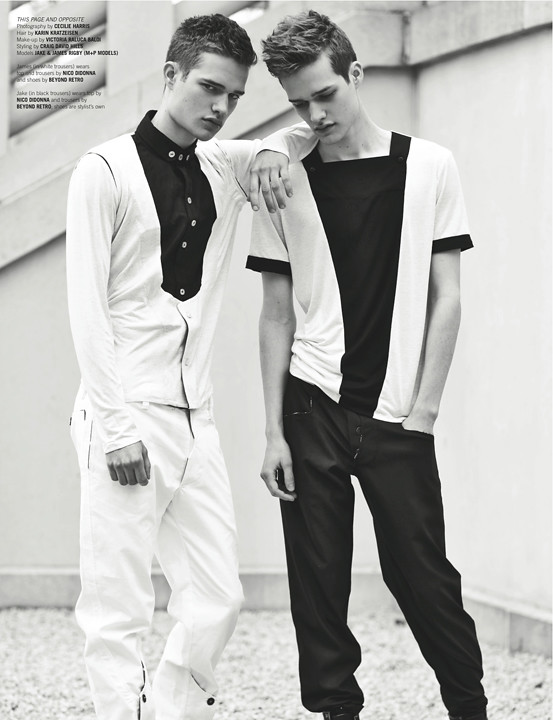 Jake & James for Papercut Magazine