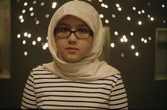 Little R (redsya manic) Tags: film girl night fuji little bokeh superia hijab rangefinder muslimah r malaysia electro kuala 135 gsn 35 yashica asa200 lumpur malay rf manic f17 35m redsya flowerofislam bokehlious ridhwanrazi colouryashinon