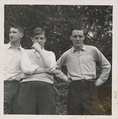 Teenage boys, ca. 1955