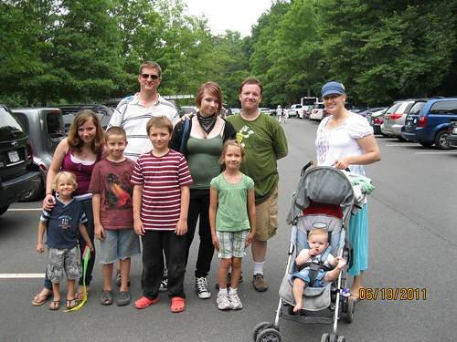 6/19/2011: Great Falls Park, Father's Day
