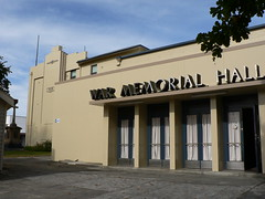 War Memorial Hall, New Norfolk