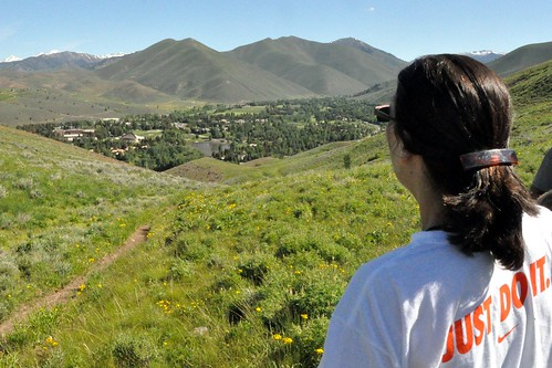 174 - Overlooking Sun Valley, Idaho by carolfoasia