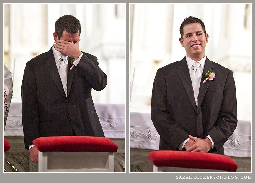 Kansas City Redemptorist wedding photographer
