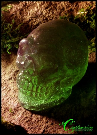 Candy Crystal skulls