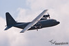 CC-130 Hercules in flight