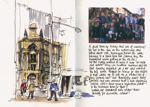 110702_03 PreTrip Sketching Day - Martin Place
