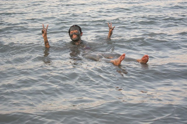 float the dead sea