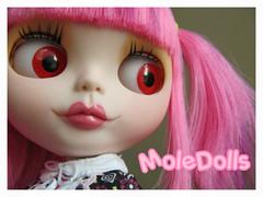Dulce Kokoro Custom Blythe by MoleDolls