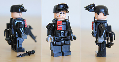 Custom minifig Commando custom minifig