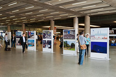 Nick Turpin exhibits at London St Pancras International Station